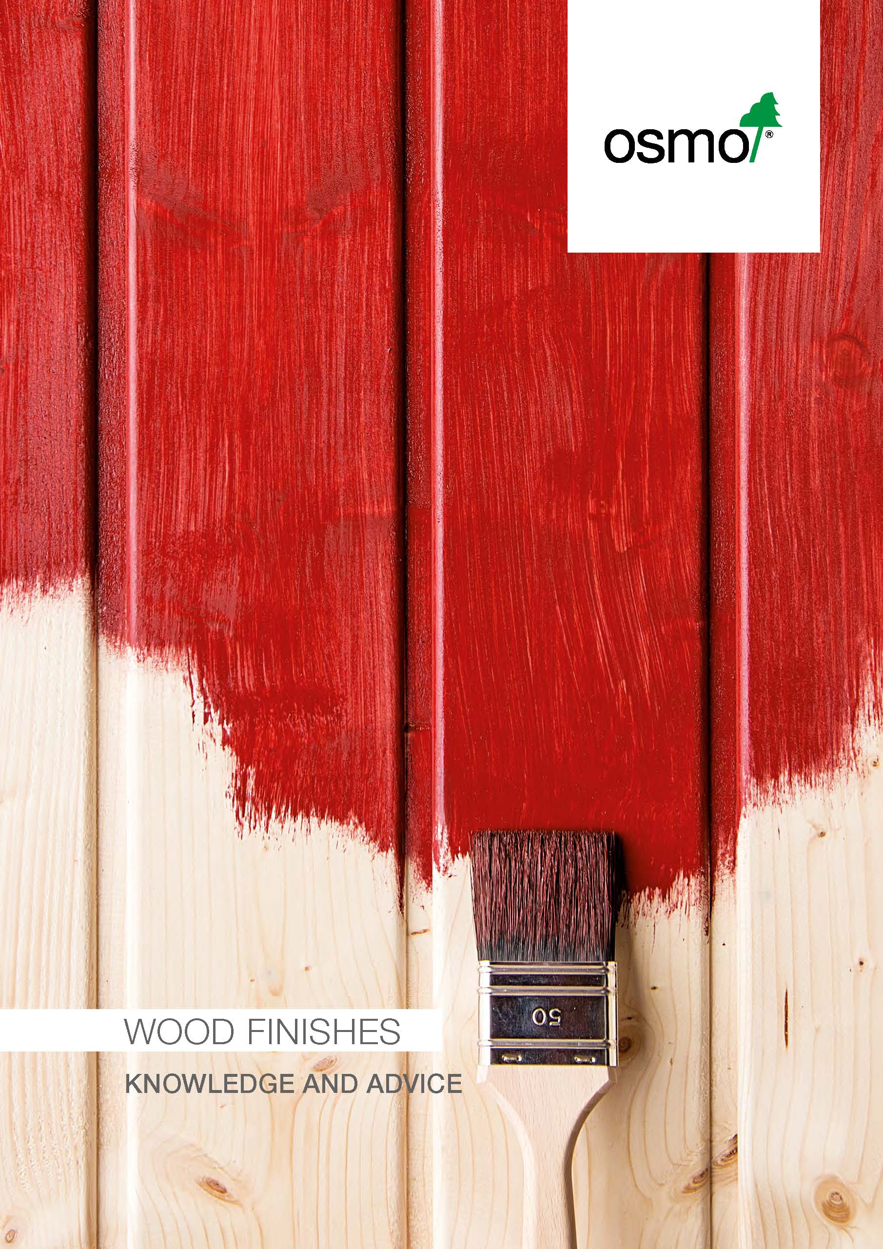 Osmo Wood Finishes - Knowledge and Advice 2020 cover image